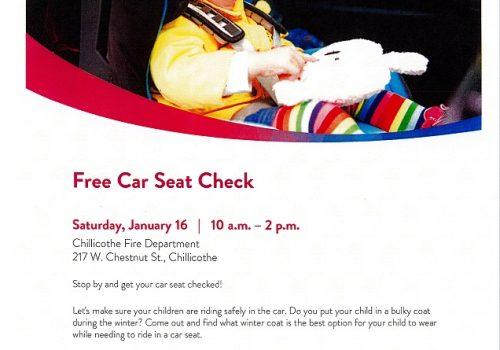 FREE Car Seat Check